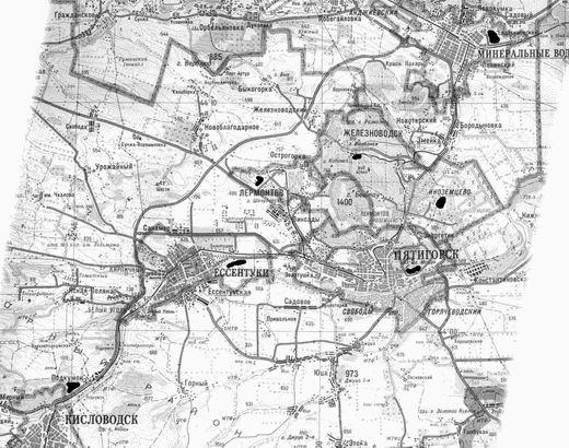 свалки кмв карта